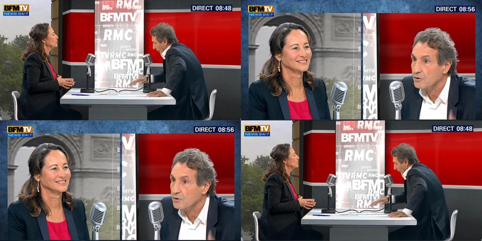 """""""Sans-dents"""": """"c'est n'importe quoi"""", répond Ségolène Royal à Valérie Trierweiler"""