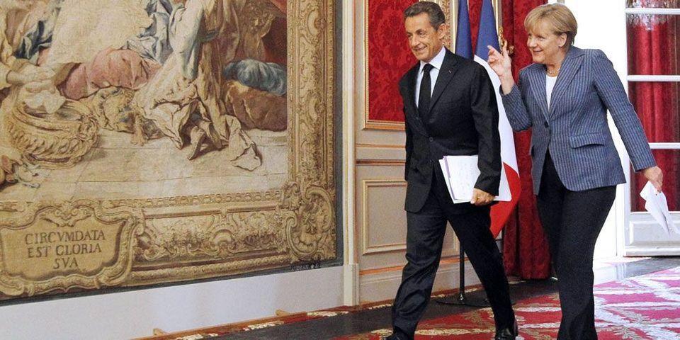 Sarkozy a-t-il donné les clefs de l'Elysée à Merkel ?