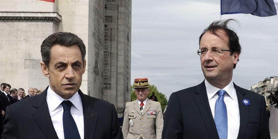 """Sarkozy considère que Hollande est une """"couille molle"""" au sujet de la Syrie, selon """"Le Canard Enchaîné"""""""