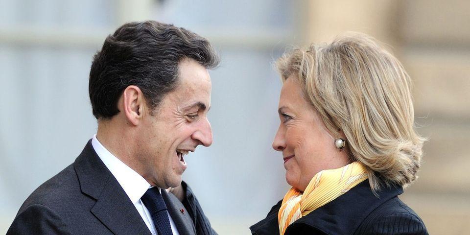 Sarkozy l'Américain voterait pour Hillary Clinton à la présidentielle américaine