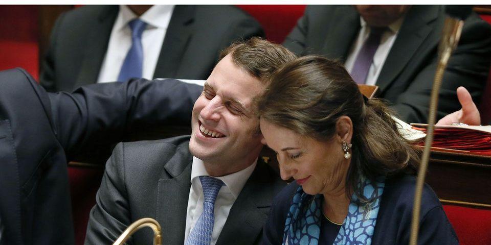 Ségolène Royal a reçu Emmanuel Macron à son ministère début décembre