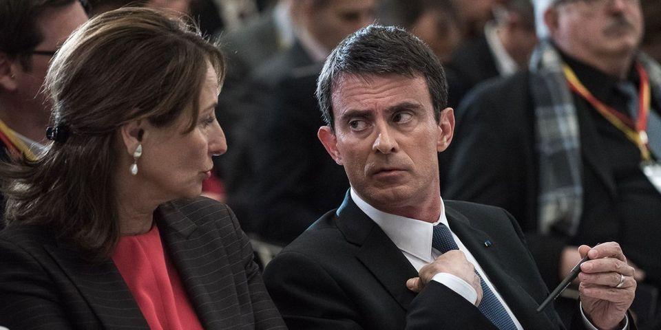"""Ségolène Royal cible le manque de """"cohérence"""" de Manuel Valls en matière d'écologie et l'accuse d'avoir cédé aux lobbys"""
