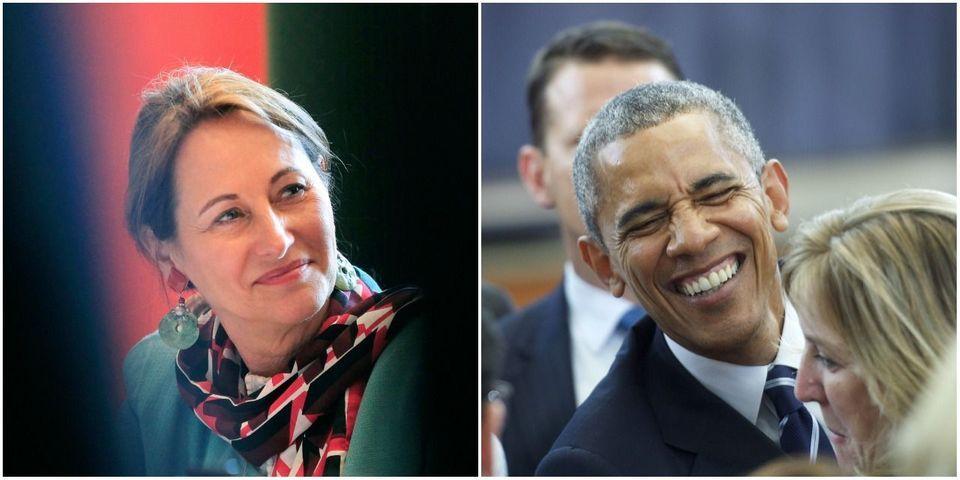 """Ségolène Royal modifie son tweet qui félicitait Barack Obama pour ses """"fiançailles"""""""