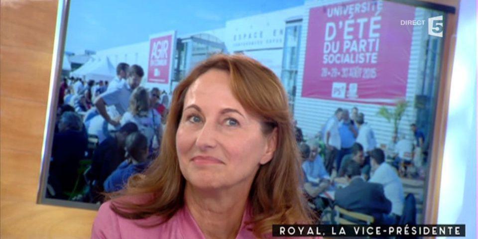 """Ségolène Royal """"ne regrette pas trop"""" d'avoir séché l'université d'été du PS à La Rochelle"""