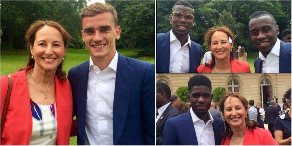 Ségolène Royal s'absente d'un débat parlementaire sur le nucléaire pour prendre des photos avec les Bleus