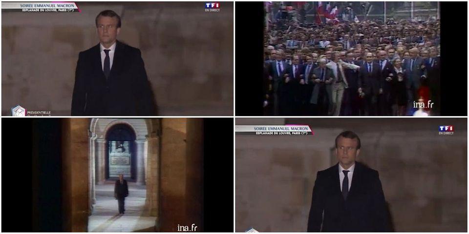 """Selon Benjamin Griveaux, François Mitterrand aurait été """"sensible à la démarche"""" d'Emmanuel Macron"""