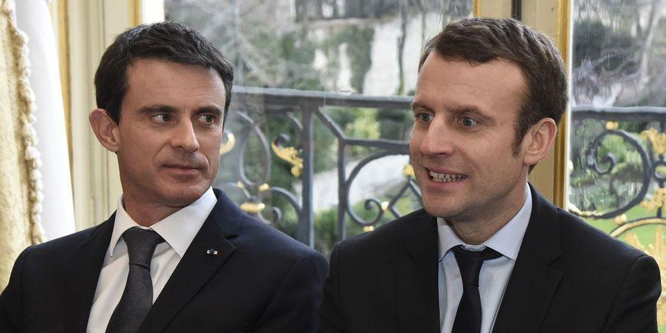 """Selon Benoît Hamon, Manuel Valls a été """"élu"""" par Emmanuel Macron"""
