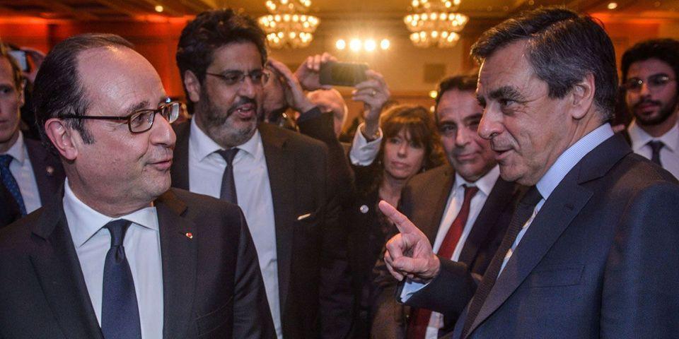 """Selon François Hollande, le maintien de la candidature Fillon était """"un mauvais service rendu à la campagne et à la démocratie"""""""