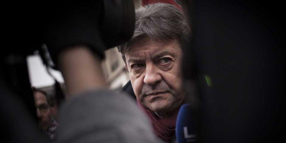 """Selon Jean-Luc Mélenchon, François Hollande """"rêve"""" d'être face à Marine Le Pen au second tour en 2017"""