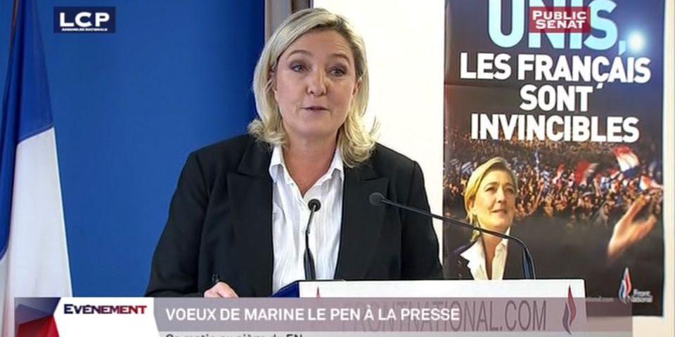 Selon Marine Le Pen, le journalisme, c'était mieux avant