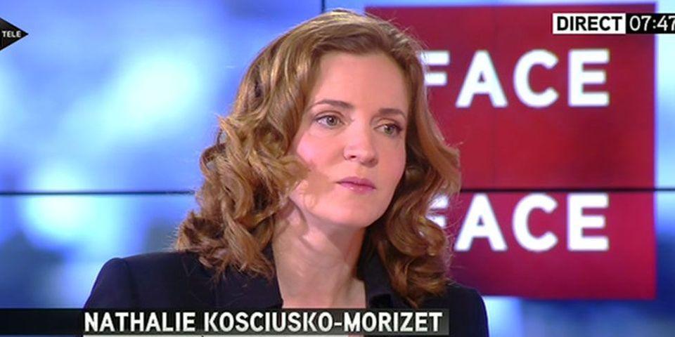 """Séparation Hollande-Trierweiler : Nathalie Kosciusko-Morizet raille """"une lettre de licenciement plutôt qu'une lettre de rupture"""""""