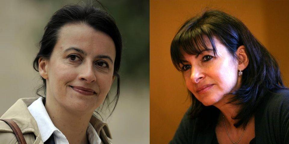 """Si Cécile Duflot est candidate à Paris, """"on se retrouvera"""", prévient Anne Hidalgo"""