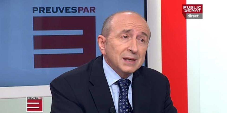 Si tu gagnes pas 3.000 euros par mois, t'as une situation très difficile, selon Gérard Collomb