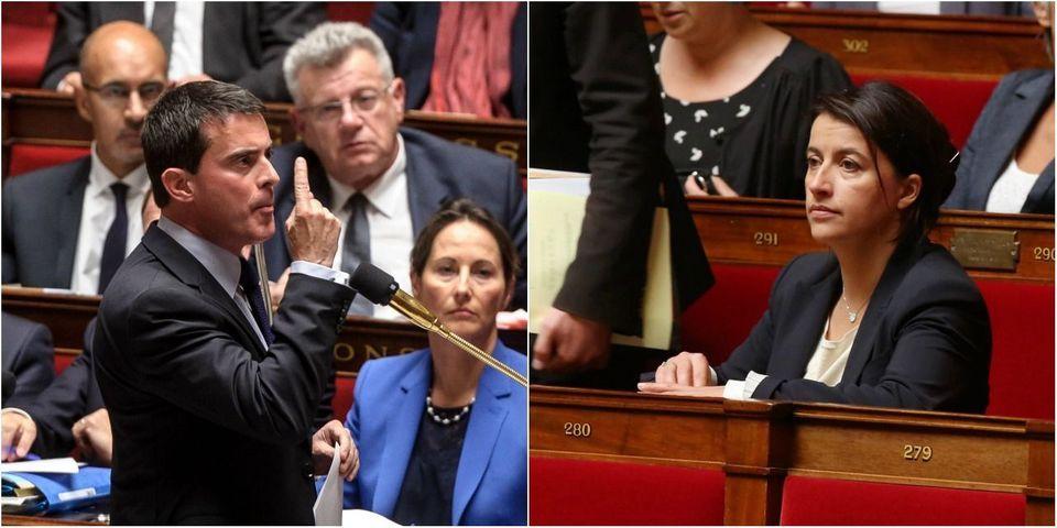 """Sivens : Manuel Valls répond à Cécile Duflot et condamne """"les déclarations à l'emporte-pièce"""""""