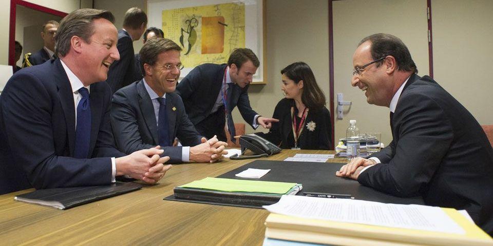 """Sommet de Bruxelles : François Hollande s'en prend au """"chèque"""" britannique"""