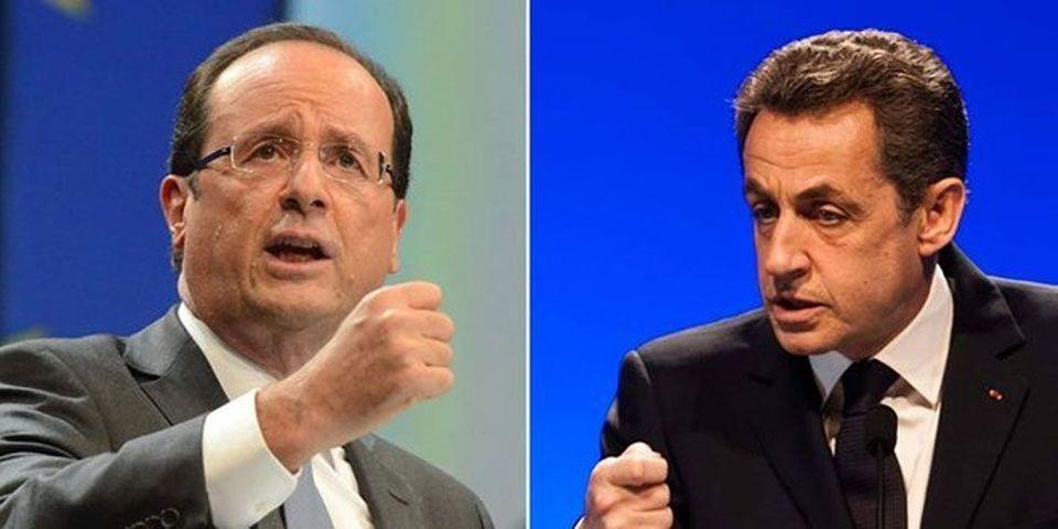 Sondage : Sarkozy passe devant Hollande au premier tour