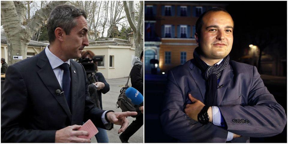 Stéphane Ravier et David Rachline : le FN, anti-cumul des mandats, porte au Sénat deux cumulards