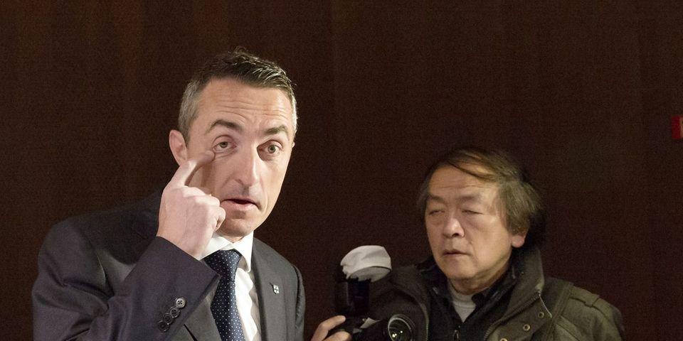 """Stéphane Ravier, sénateur FN, évoque le """"grand remplacement"""" dans son discours lors de l'université d'été du parti"""