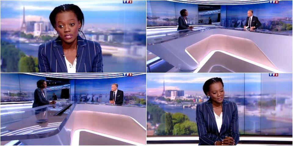 Sur TF1, Rama Yade annonce sa candidature à la présidentielle de 2017