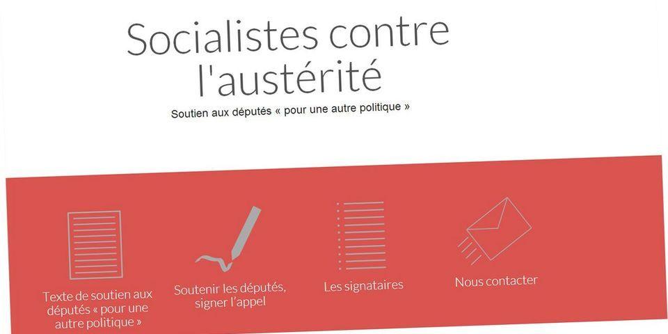 Sur un site, 600 socialistes signent un appel à soutenir les députés de la majorité opposés au Pacte de responsabilité du gouvernement