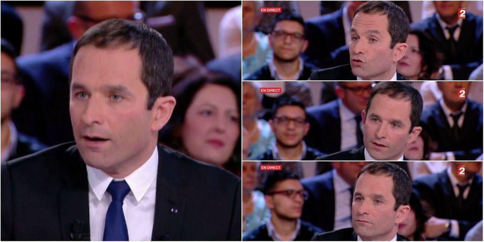 """Syrie : lui Président, Benoît Hamon """"irait"""" à Alep, """"comme Mitterrand à Sarajevo"""""""