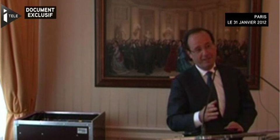 Taxe à 75% : candidat à la présidentielle, François Hollande avait promis aux clubs de foot que leurs impôts n'augmenteraient pas