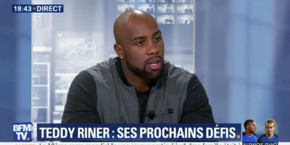 """VIDÉO - Teddy Riner accepterait """"avec grand plaisir"""" de devenir un jour ministre des Sports"""
