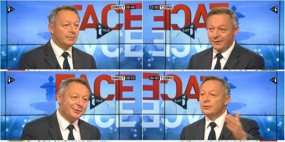 """Thierry Braillard, """"toujours heureux d'être ministre"""", surtout """"par rapport au succès que le PSG va avoir"""""""