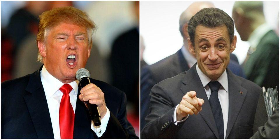Tiens, Nicolas Sarkozy a encore changé d'avis sur Donald Trump