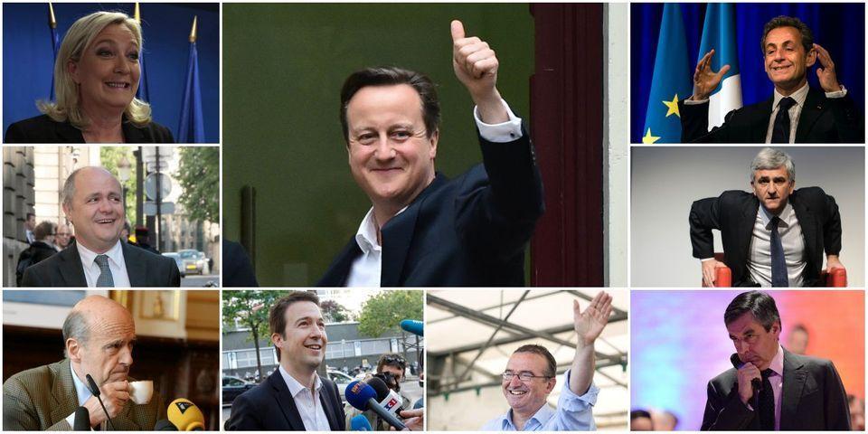 Juppé, Sarkozy, Le Pen... Les politiques français voient tous David Cameron à leur porte