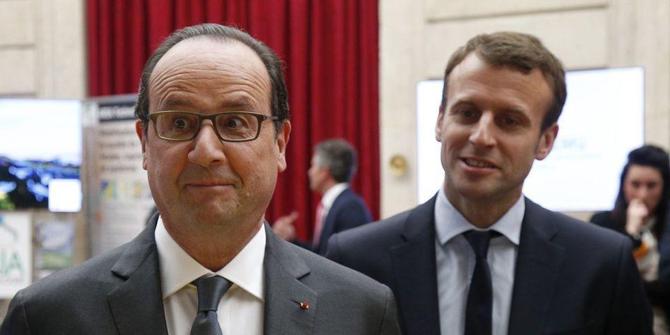 Trois mois avant d'entrer au gouvernement, Emmanuel Macron dézinguait la politique de François Hollande au Bilderberg