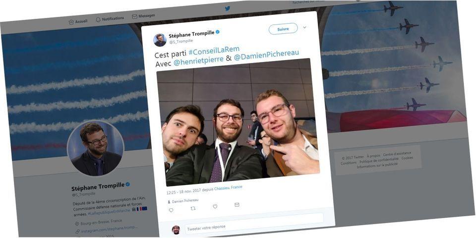 Tweetfail : le selfie doigt d'honneur d'un député LREM en plein congrès
