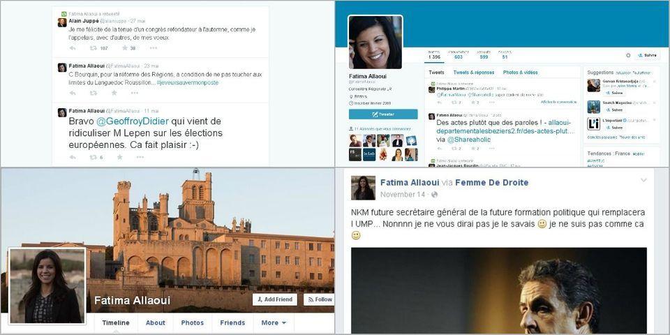 Nicolas Sarkozy nomme Fatima Allaoui, membre du SIEL et proche du Rassemblement bleu marine, secrétaire nationale de l'UMP