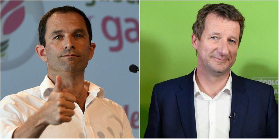 Un cadre EELV veut que Yannick Jadot se rallie à Benoît Hamon s'il gagne la primaire de la BAP