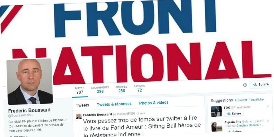 """Un candidat FN demande la fermeture de iTélé """"dès l'arrivée au pouvoir"""" (car ses journalistes """"défendent"""" Ibrahimovic)"""