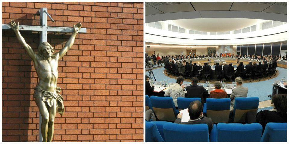 Un conseiller PS emporte avec lui le crucifix du conseil général du Haut-Rhin