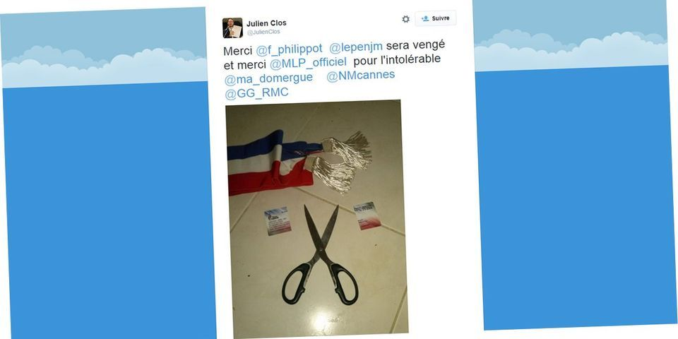 """Un élu FN des Alpes Maritimes découpe sa carte d'adhérent : """"Jean-Marie sera vengé"""""""