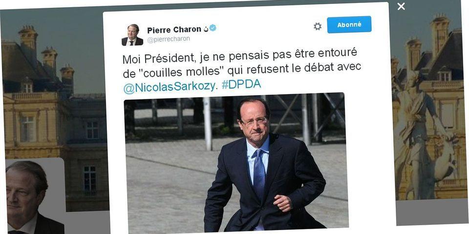 """Un sénateur LR estime que François Hollande est """"entouré de couilles molles qui refusent le débat avec Nicolas Sarkozy"""""""