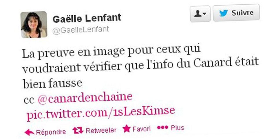 Une candidate à la mairie d'Aix répond au Canard Enchainé par une Twitpic de sa carte électorale