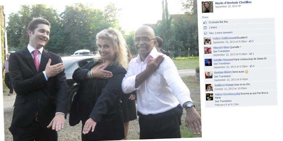 """Une candidate FN dans la Sarthe revendique sa """"quenelle"""" postée sur Facebook"""