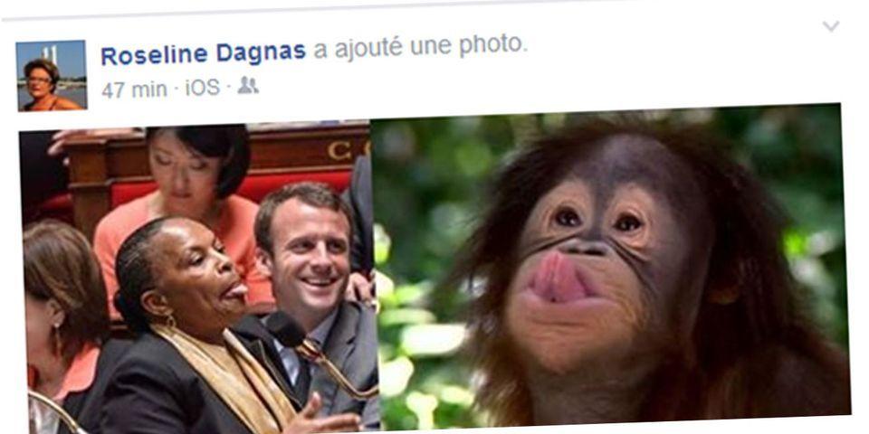 Une élue municipale Les Républicains compare Christiane Taubira à… un singe
