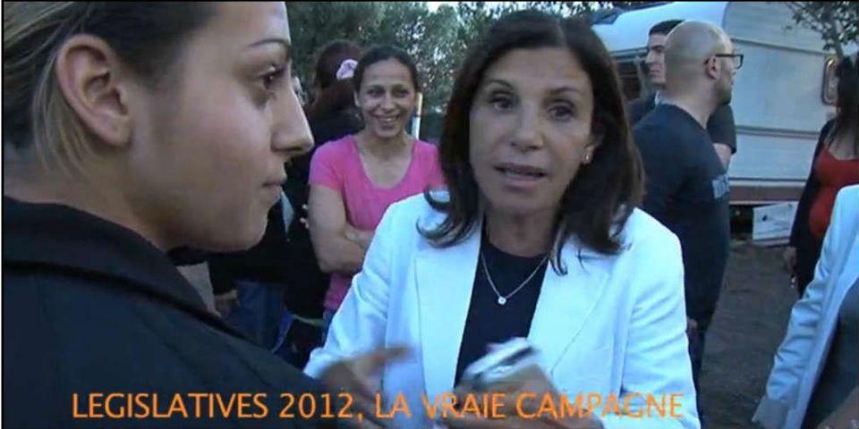 """Une élue UMP dans un camp de Roms : """"Vous cambriolez ces gens ! On ne veut plus vous voir"""""""