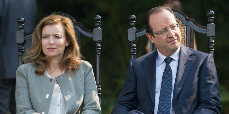 Valérie Trierweiler révèle un SMS de François Hollande dans lequel il parle des sans-dents