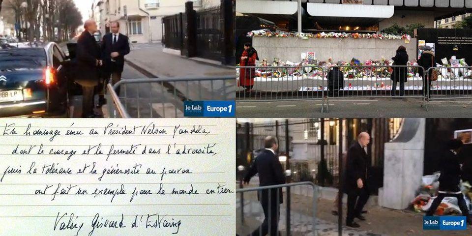 """Valéry Giscard d'Estaing: """"Je n'ai pas été invité à la cérémonie d'hommage à Mandela"""""""