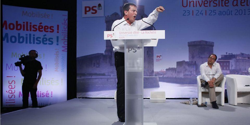 Valls la joue comme Ayrault et se rendra à l'université d'été du Medef