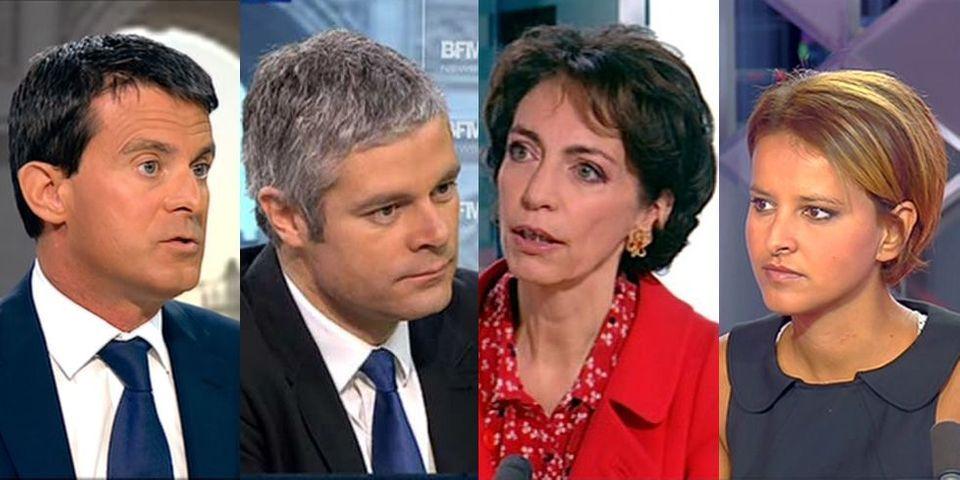 Valls, Vallaud-Belkacem, Touraine, Wauquiez : le multiplex politique du dimanche 29 septembre