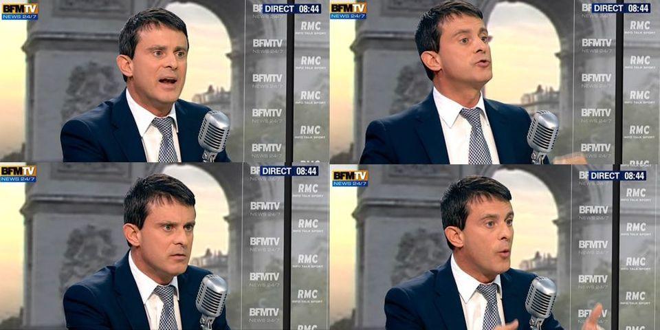Manuel Valls fait une petite leçon de gauche sur les Roms pour répondre aux critiques