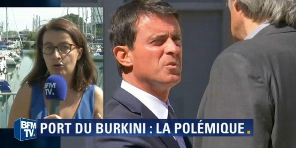 VIDÉO - Agacée par la polémique sur le burkini, Duflot appelle Valls et les médias à se ressaisir