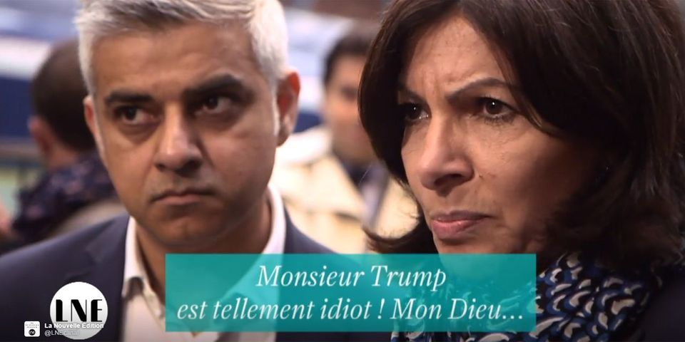 "VIDÉO – Anne Hidago dans le texte : ""Donald Trump is so stupid ! My God ! My God !"""