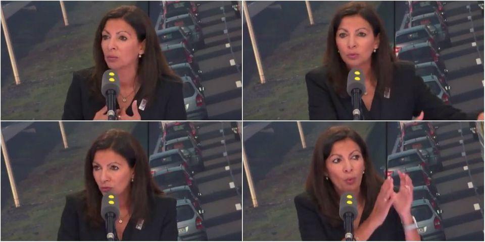 """VIDÉO - Anne Hidalgo raconte avoir été """"menacée dans son bureau"""" par """"le lobby automobile"""""""